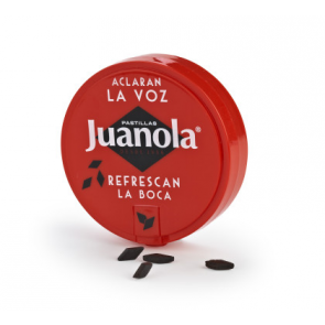 Juanola Clásica Pastillas de Regaliz Cajita 27 gr - Garganta