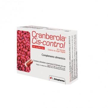 Cranberola Cis-control Arkopharma 60 cáps. - bienestar urinario, cistitis