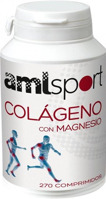 AML Sport Colágeno con Magnesio 270 Compr. Ana María La Justicia