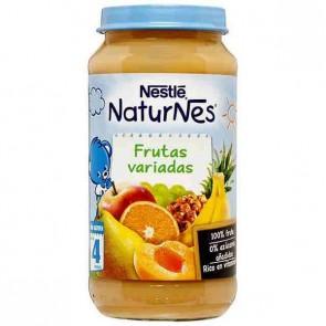 Nestlé Naturnes Frutas Variadas 250gr - Vitaminas y Energía para tu Bebé - 100% Natural