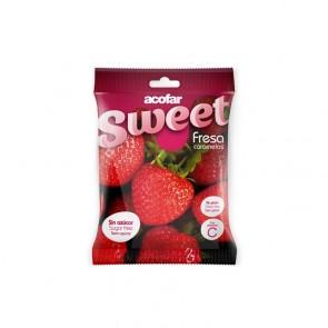 Acofarsweet Fresa Caramelos Sin Azúcar 35 Gr