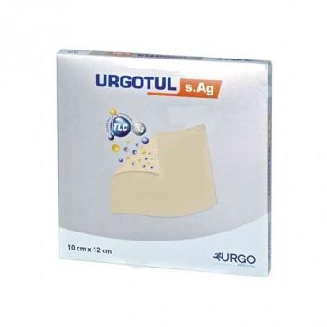 Urgotul Sulfadiazina AG Apósito Estéril 10 x 12 cm 10 Unidades - Protección Antibacteriana de la Piel