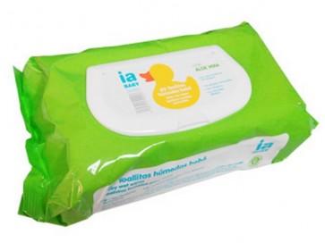 Recambio de 72 Toallitas para Bebé Aloe con Tapa de Interapothek - Sin Parabenos para la Higiene del Bebé