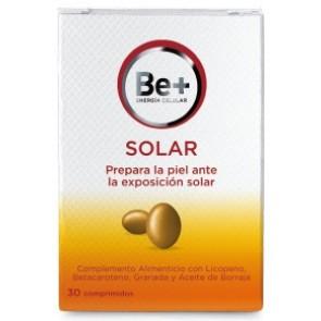 Be+ Protección Solar Complemento Alimenticio 30 Cápsulas