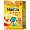 Nestlé 8 Cereales con Galleta Maria 600 gr - Papillas de Cereales