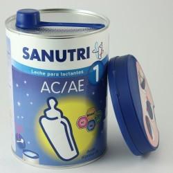 Sanutri AC/AE 1 Leche para Lactantes 800 G - Anticólico, Antiestreñimiento