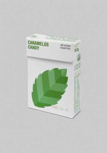 Balmelos 36.5 gr Caramelos Sabor Mentol/Eucaliptus de Interapothek - Sin Azúcar - Refresca y Despeja