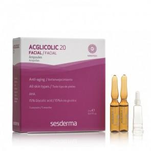 Acglicolic 20 Hidratante Antienvejecimiento 2 ml 5 Unidades