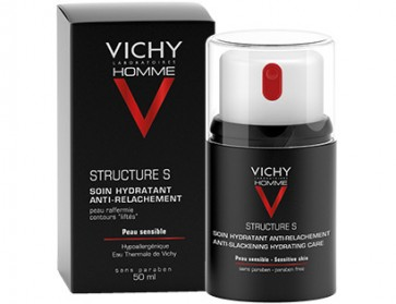 Vichy Homme Structure S Reafirmante 50 ml