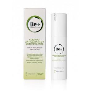 Be+ Cuidado Antioxidante y Detoxificante, Sérum Reparador Anti-Fatiga  30ml - Prepara la Piel para Tratamientos Anti-fatiga Posteriores