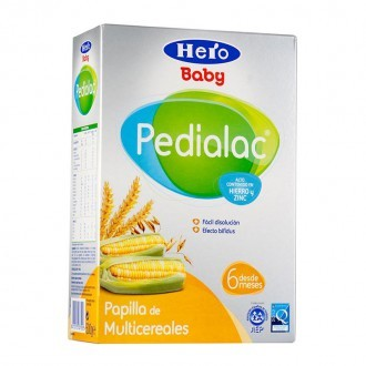 Hero Pedialac Papilla Multicerales 500Gr - Papilla Multicereales