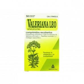 Valeriana Leo Angelini 50 Comprimidos - Favorece la Relajación y Tranquilidad