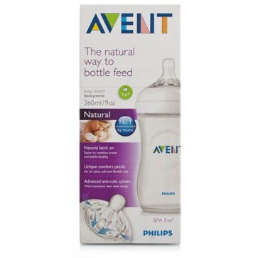 Philips Avent Biberón Pp Natural 260 ml