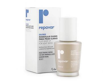 Repavar Oilfree Maquillaje Fluido Pieles Claras 35 ml - Cuidado Facial