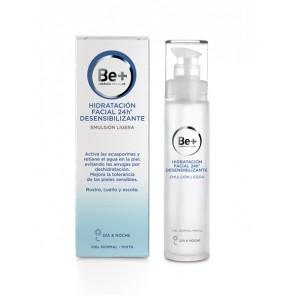 Be+ Hidrataión Facial 24h Desensibilizante Emulsión Ligera 50ml
