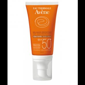 Avene Crema Coloreada SPF 50+ 50 ml - Crema Muy Alta Protección