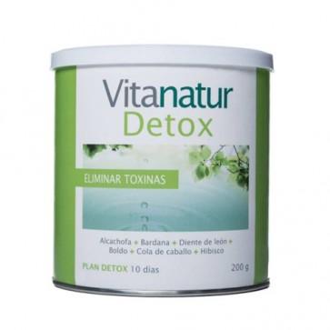 Vitanatur Detox 200 Gramos - Eliminación de Toxinas, Depuración del Cuerpo