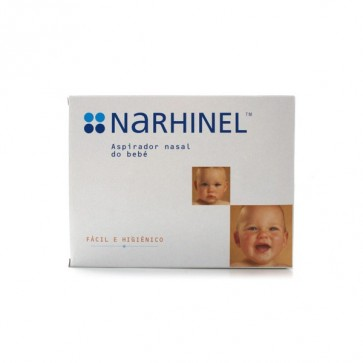 Narhinel Aspirador Nasal Bebe 1Unidad + 3 Recambios - Previene la Aparición de Otitis o Bronquitis