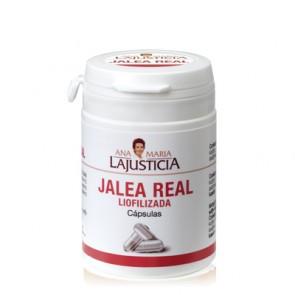 Ana Maria Lajusticia Jalea Real con Miel Liofilizada 60 Cápsulas - Combate estados de decaimiento, agotamiento físico y mental
