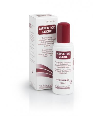 Mepentol Leche Emulsión 200ml - Prevenir y Tratar Úlceras  por Presión