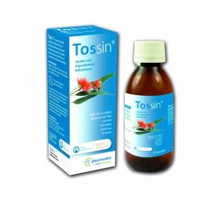 Tossin - jarabe para la tos, antitusivo, mucolítico y expectorante