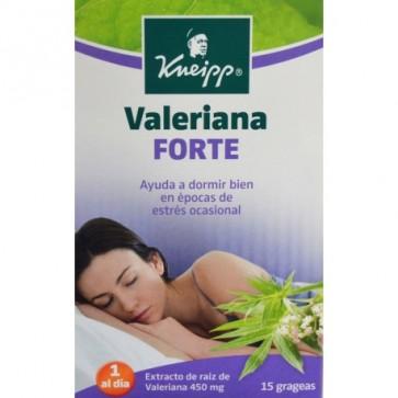 Kneipp Valeriana Forte 15 Grageas - Ayuda para Conciliar el Sueño