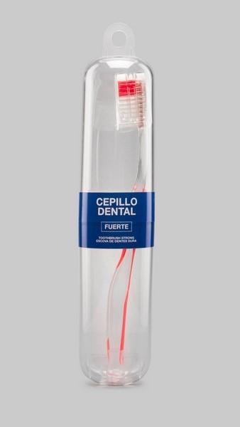 Cepillo Dental Duro de Interapothek - Con Monofilamentos Fuertes de 0,009 Pulgadas de Diámetro