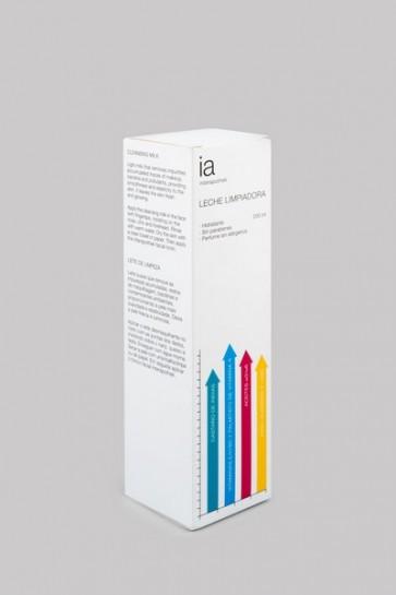 Leche Limpiadora 200 ml de Intarapothek - Elimina los Restos de Maquillaje Bacterias y Contaminantes Ambientales