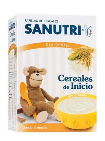 Sandoz Papilla Cereales Sin Gluten 600 gr - Alimento Infantil para Bebés a partir de los 4 Meses
