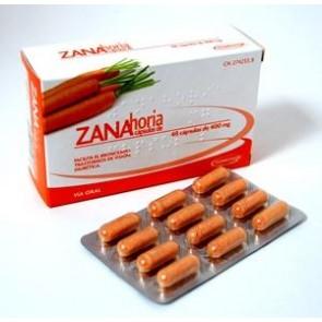Zanahoria Soria Natural 400 mg 60 Cápsulas - Complemento Alimenticio Diurético Facilita el Bronceado