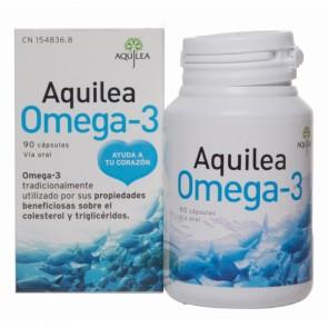 Aquilea Omega 3 90 cápsulas - Colesterol y Triglicéridos