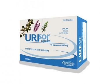 Homeosor Urisor 400 mg 48 Cápsulas