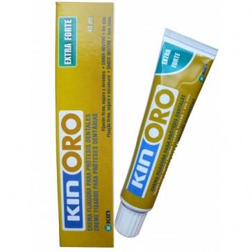 Kin Oro Gel Fijador 40 ml - Fijación Extra Fuerte - Sin Sabor
