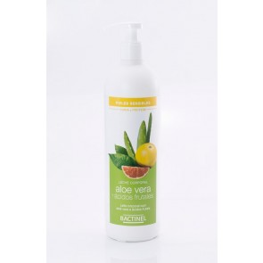 Bactinel Leche Corporal de Aloe Vera y Ácidos Frutales 400ml - Regenera y Protege Pieles Sensibles