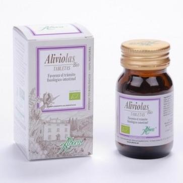 Aliviolas Bio 90 Tabletas en Frasco - Tránsito Intestinal, Tisana