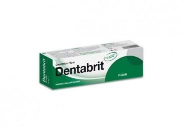 Dentabrit Pasta Dental 75 ml - Pasta de dientes Bi-flúor y Calcio Tamaño Viaje