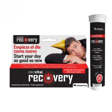 Arkovital Recovery 20 comprimidos efervescentes - Reducir Cansancio y Fatiga