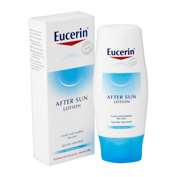 Eucerin Loción After Sun 150 ml - Frescor, Calmante, Vitamina E