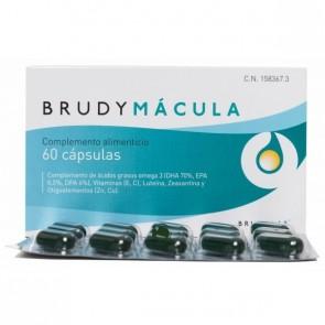 BrudyMácula 60 Cápsulas Brudylab - Ácidos Grasos Esenciales, Vitaminas, Luteína
