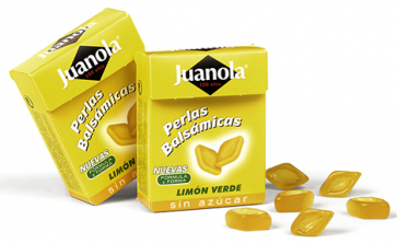 Juanola Perlas Balsámicas Limón Verde 25 gr