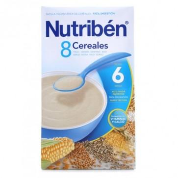 Comprar Nutriben Papilla 8 Cereales 300 G