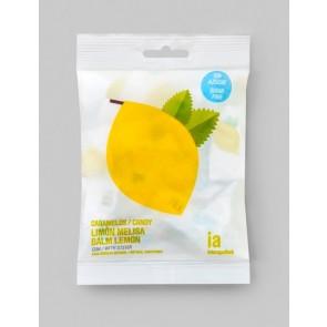 Caramelos Sin Azúcar 50 gr Sabor a Limón y Melissa Balmelos - Marca Interapothek - Refresca y Despeja tu Nariz y Garganta