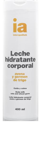 Interapothek Leche Corpora Hidratantel 400 ml Avena y Germen de Trigo - Cuida y Calma tu Piel