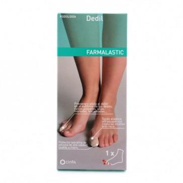 Farmalastic Dedil Protector Talla Pequeña Anticallos y Antiampollas
