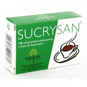 Sucrysan 100 Comprimidos - Aspartamo, Edulcorante