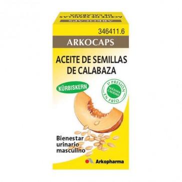 Aceite de Semillas de Calabaza 50 cáps. - hiperplasia benigna de próstata