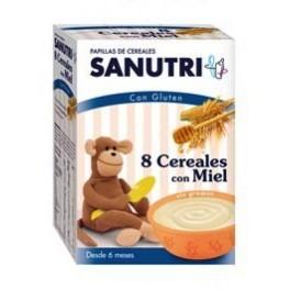 Sandoz Papilla 8 Cereales Miel 600 G