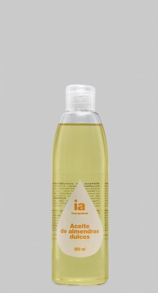 Aceite de Almendras 250 ml de Interapothek - Hidratación y Prevención de Estrías
