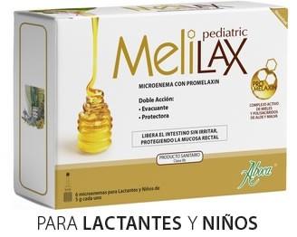 Aboca Melilax Pediatric 6 Microenemas 5Gr - Alivia el Estreñimiento Infantil