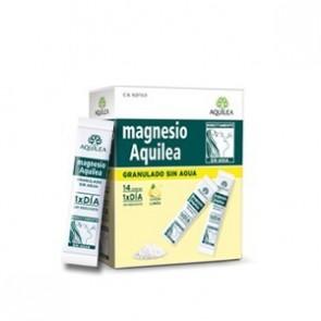 Magnesio Aquilea 14 sobres granulados - debilidad, calambres, sobreesfuerzo